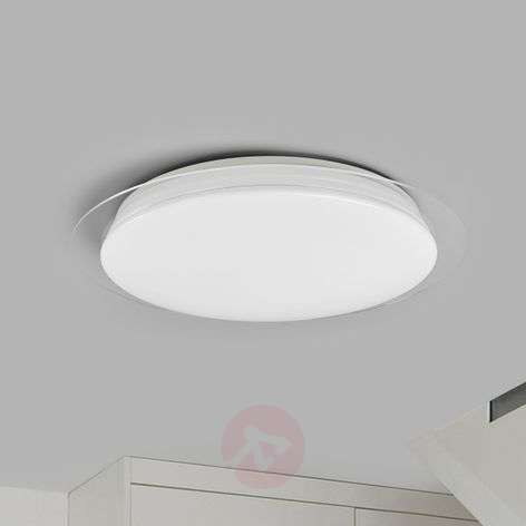 LED ceiling light Tille, dimmable with remote