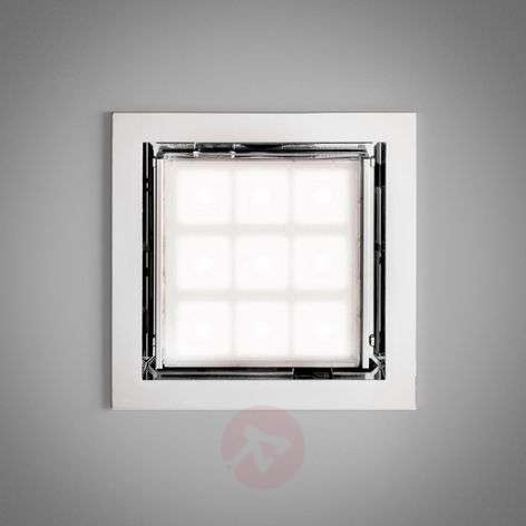 LED ceiling PAD80 with adjustable lense
