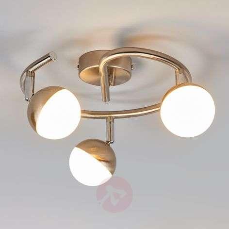 LED circular ceiling spotlight Jonne, 3-bulb