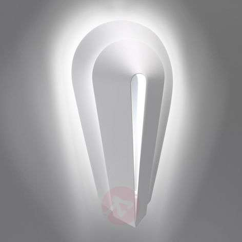 LED designer wall light Clio with a great effect