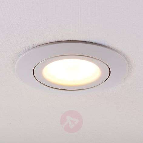 LED downlight Andrej, round, white
