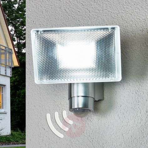 LED exterior wall spotlight with infrared MD