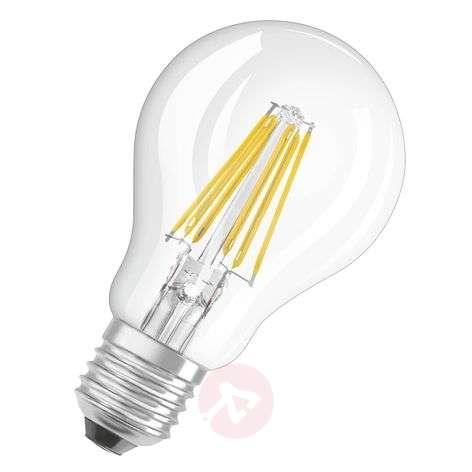LED filament bulb E27 8 W, warm white 1,055 lumens
