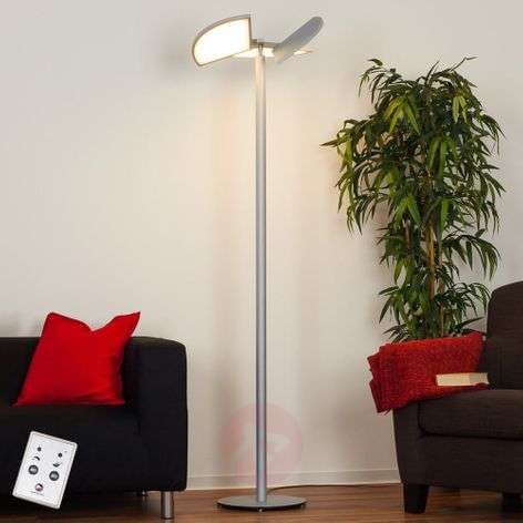 LED floor lamp Aurela with pivotable elements