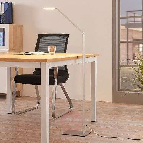 LED floor lamp Resi with dimmer, ideal for reading