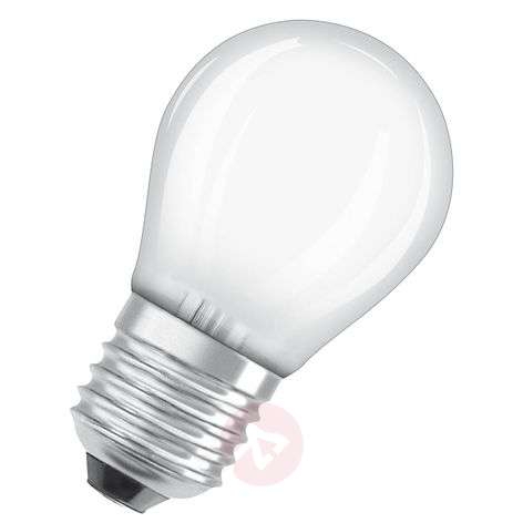 LED golf ball bulb E27 4.5W, warm white, dimmable