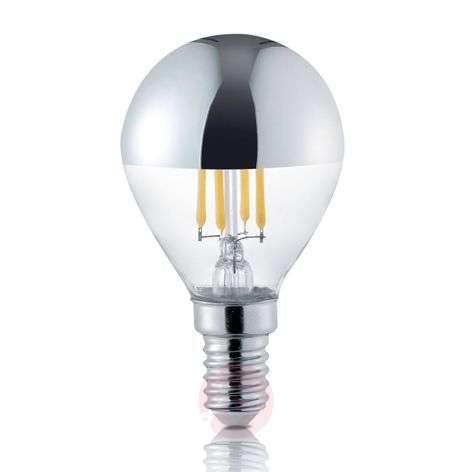 LED half mirror bulb E14 4 W, 2,800 K