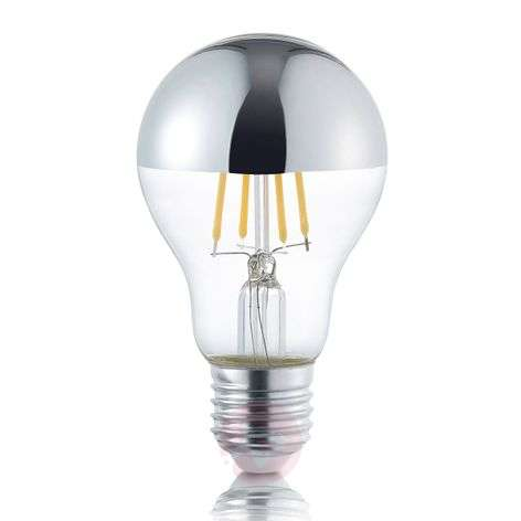 LED half mirror bulb E27 4 W, warm white-9004816-31