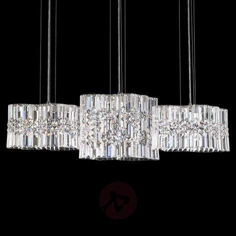 LED hanging light Selene with Swarovski crystals