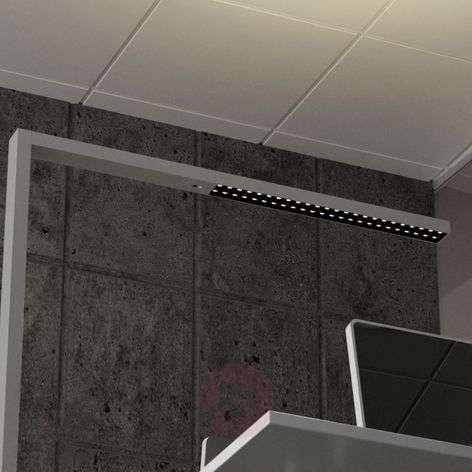LED office floor lamp Jolinda, CCT with sensor