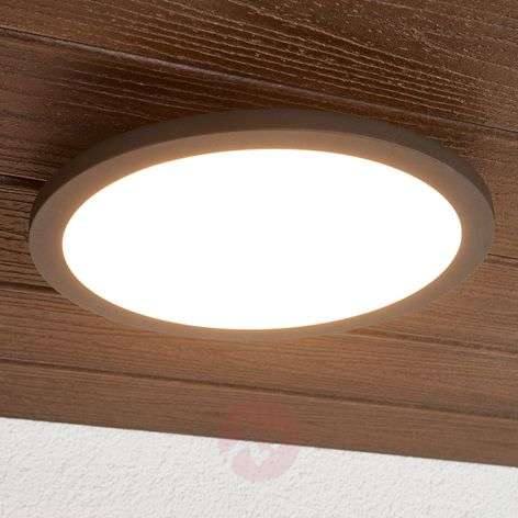 LED outdoor ceiling light Malena with sensor