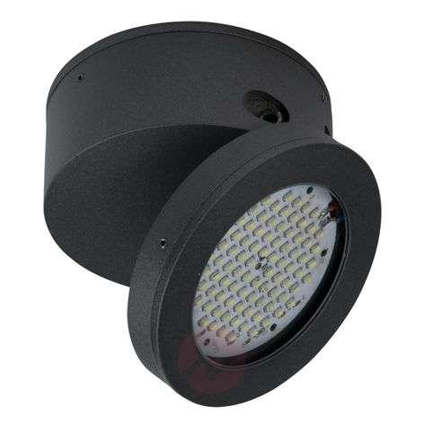 LED outdoor ceiling spotlight Functional in black-4000123-31