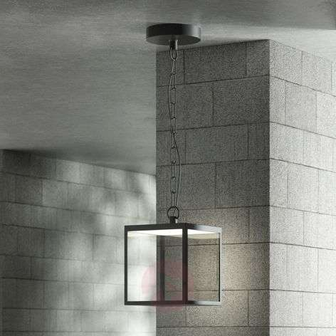 LED outdoor hanging light Cube, 18 cm