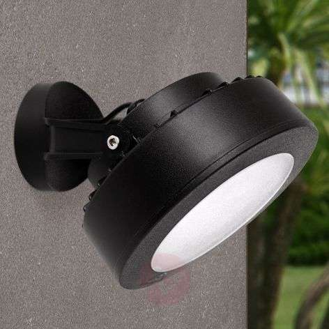 LED outdoor spotlight Tommy 10 W warm white, black