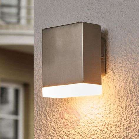 LED outdoor wall light Aya shining downwards