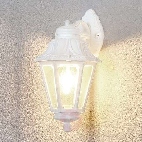 LED outdoor wall light Bisso Anna, lantern down