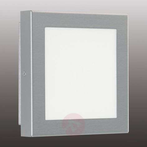 LED outdoor wall light Mette, stainless steel, 8 W