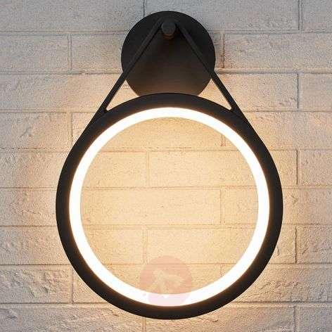 LED outdoor wall light Mirco, ring-shaped, IP65