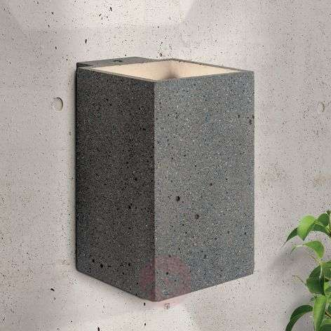 LED outdoor wall light Sandro concrete warm white