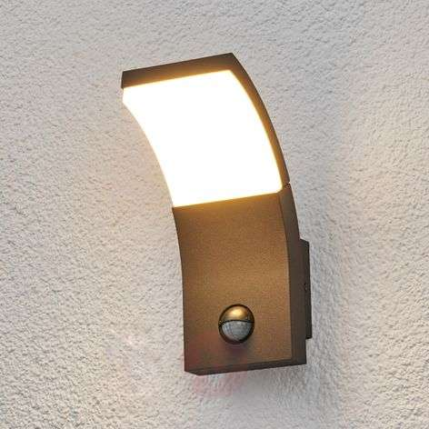 LED outdoor wall light Timm with motion detector-9619049-33