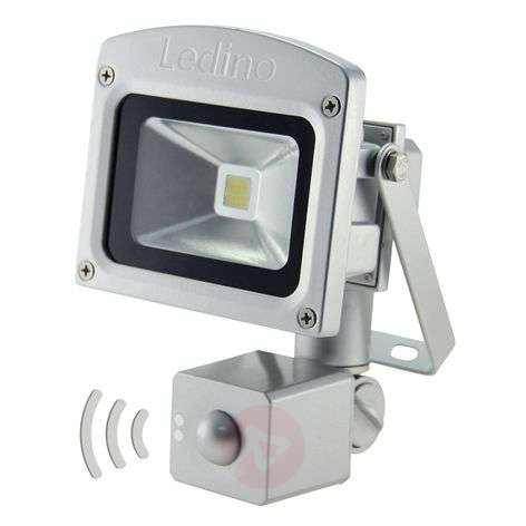 LED outdr wall spotlight Eliot w. microwave sensor