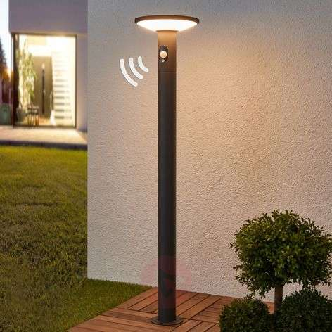 LED path light Jersy with solar panel, 100 cm