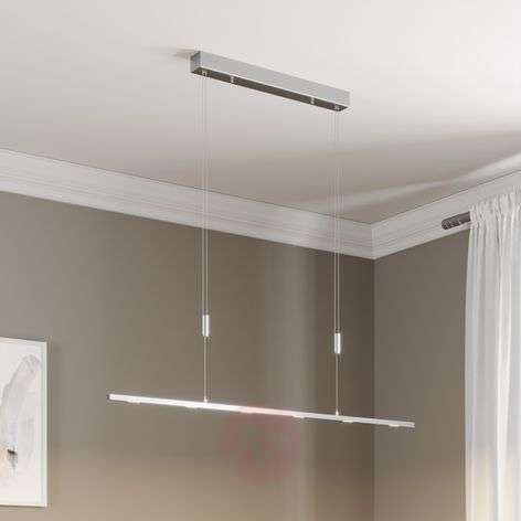 LED pendant lamp Arnik, dimmable via switch