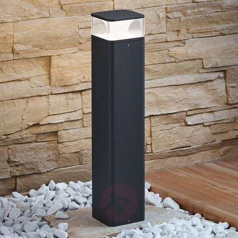 LED pillar light Lidia made of aluminium 50 cm