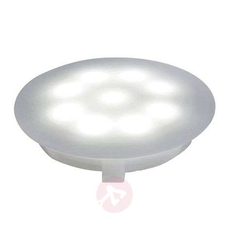 LED polycarbonate downlight 6500 K satin. 1x1 W
