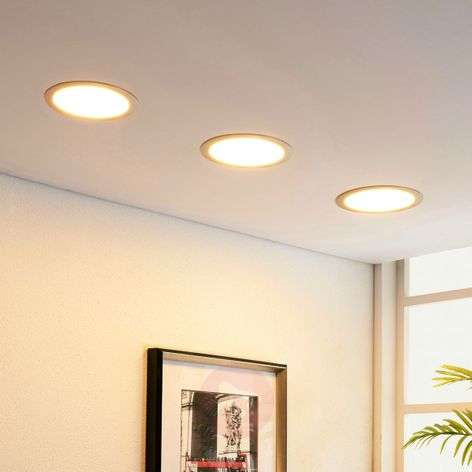 LED recessed downlight Martje, round
