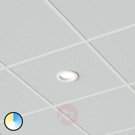 LED recessed light Piet, IP44, 12 W