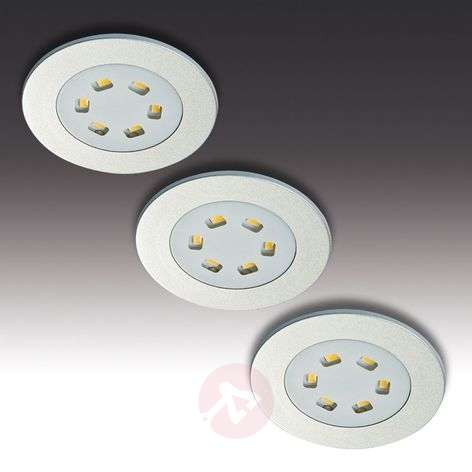 LED recessed light R 55 in set of three