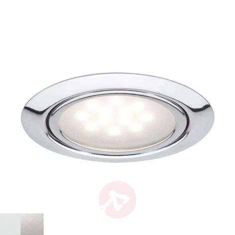 LED recessed light Skinne in 3 piece set
