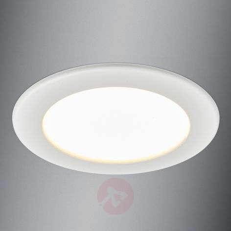 LED recessed spotlight Editha for bathrooms, 10.5W