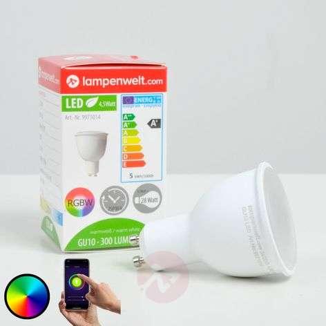 LED reflector bulb 110degree GU10 4,5W, RGB, dimmable-9971014-31