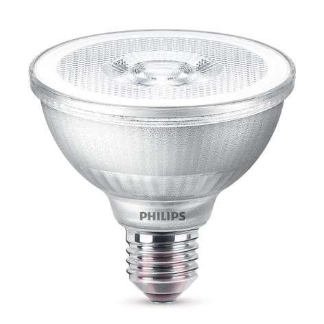 LED reflector bulb PAR30S E27 9.5 W warm white