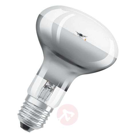 LED reflector bulb R80 E27 7W warm white dimmable