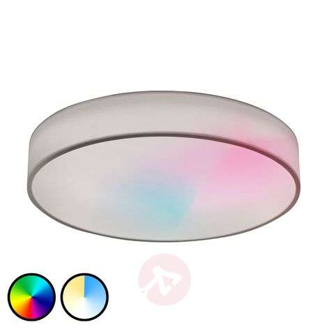 LED RGB fabric ceiling lamp Ajai 3,000-5,000K WiZ