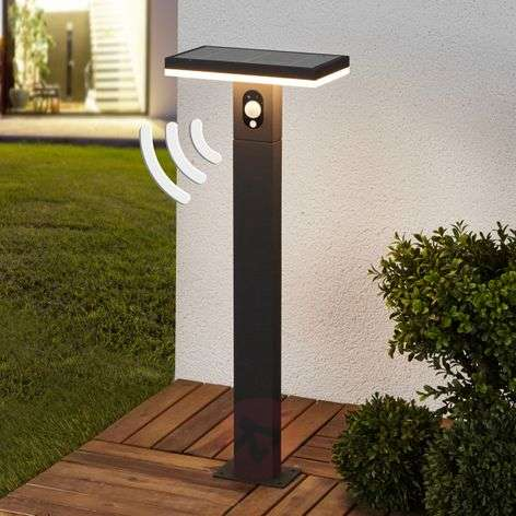 LED solar path light Josa with motion detector