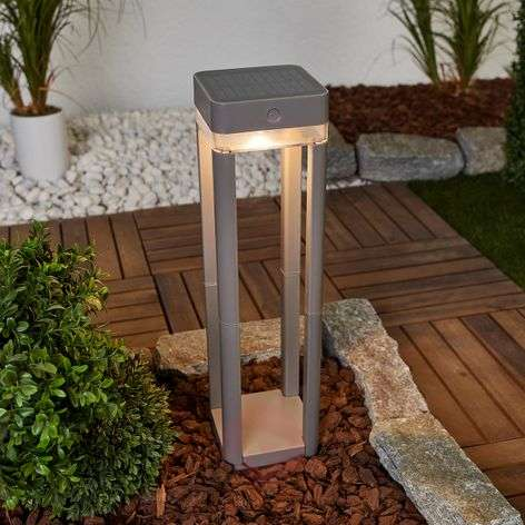 LED solar path light Table Cube - with switch