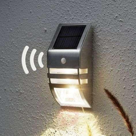 LED solar wall light Wally, motion detector