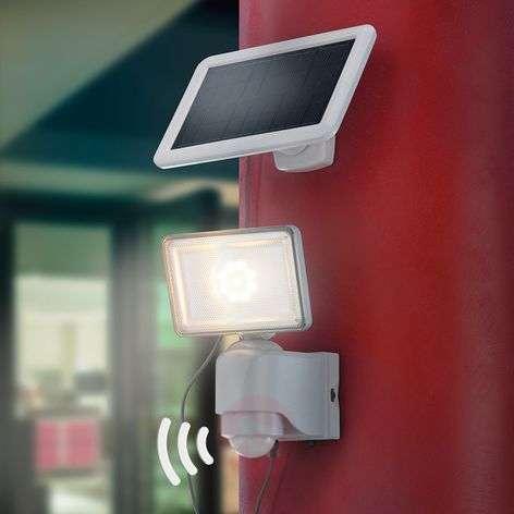 LED solar wall spotlight Power, 500 lm, IR sensor
