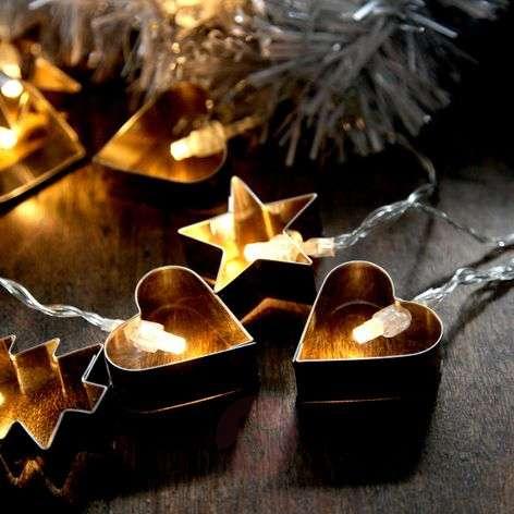 LED string lights Gingerbread