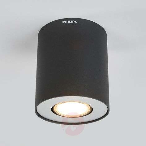 LED surface-mounted spotlight Pillar, black-7531894-31