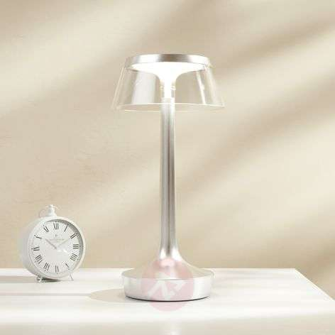 LED table lamp Bon Jour unplugged with battery