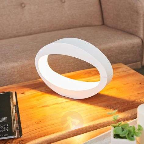LED table lamp MAURICE white