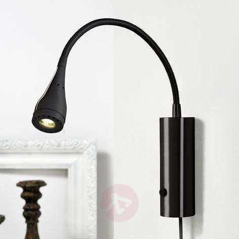 LED wall lamp Mento with flexible arm