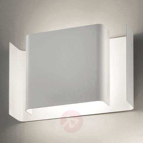 LED wall light Alalunga in white