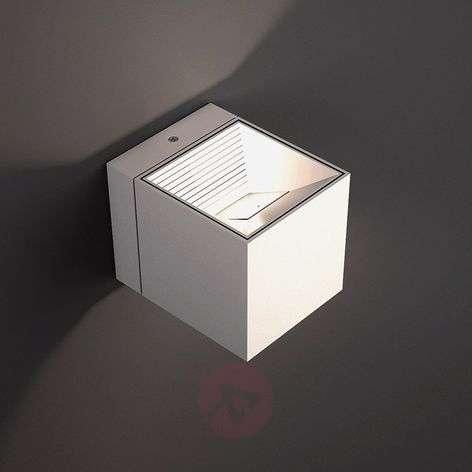 LED wall light Dau in white