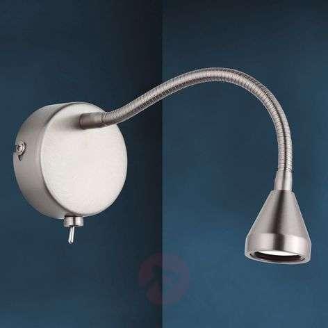 LED wall light MINI, flexible arm